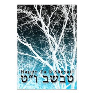 Happy Tu B'Shevat! : Jewish Arbor Day 2 3.5x5 Paper Invitation Card