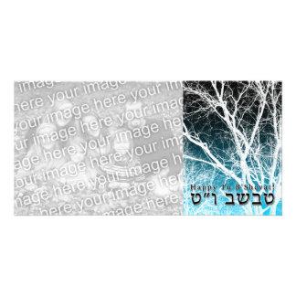 Happy Tu B'Shevat! : Jewish Arbor Day 2 Custom Photo Card