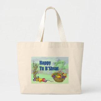 Happy Tu B Shvat Tote Bags