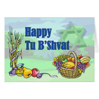 Happy Tu B Shvat Greeting Cards