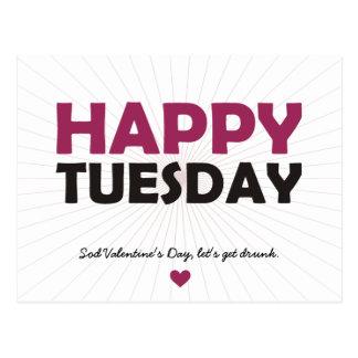 Happy Tuesday Postcards