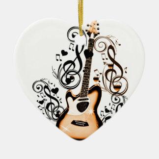 Happy Tunes_ Ceramic Ornament