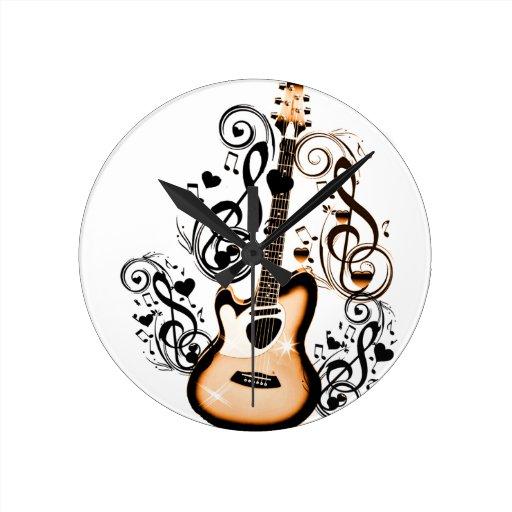 Happy Tunes_ Round Clock