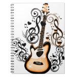 Happy Tunes_ Spiral Notebooks