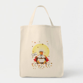 Happy Turkey Day Tote Bags