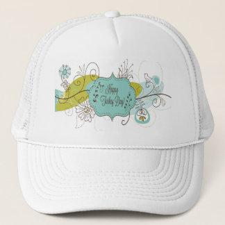 """Happy Turkey Day"" Fun Womans Hat"
