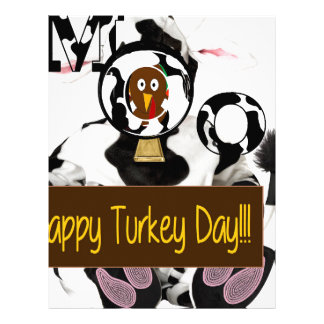 Happy Turkey Day Letterhead