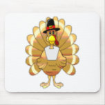 Happy Turkey Day Mouse Pads