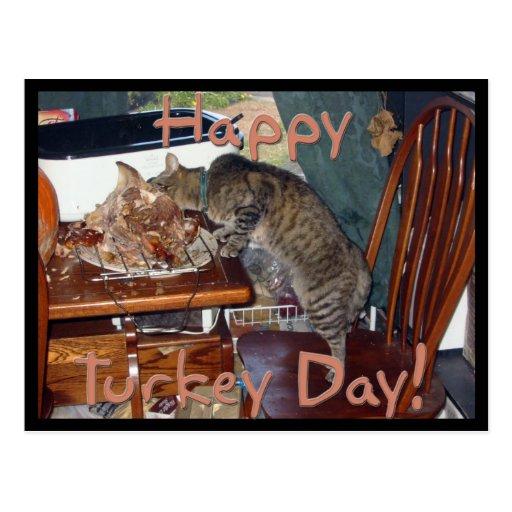 Happy Turkey Day! Postcard