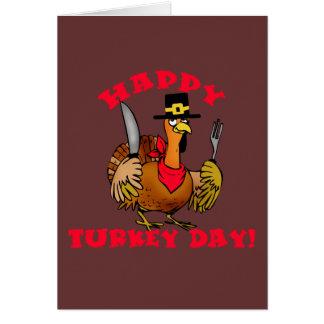 Happy Turkey Day T shirts, Hoodies, Sweats Greeting Card