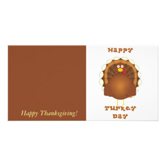 Happy Turkey day Thanksgiving Card