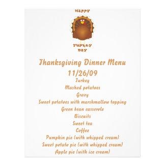 Happy Turkey day Thanksgiving Flyer
