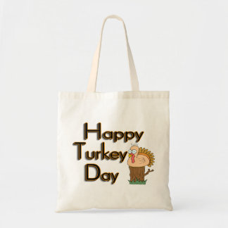Happy Turkey Day Thanksgiving Tote Bag