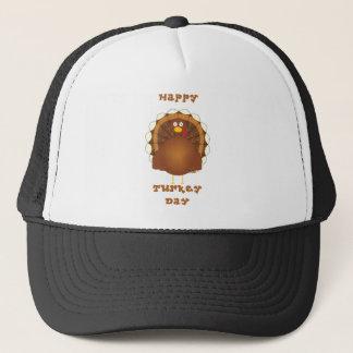 Happy Turkey day Thanksgiving Trucker Hat