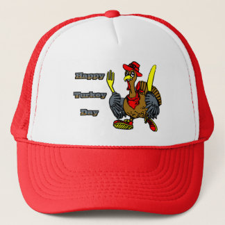 Happy Turkey Day Trucker Hat