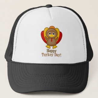 Happy Turkey Day! Turkey Trucker Hat