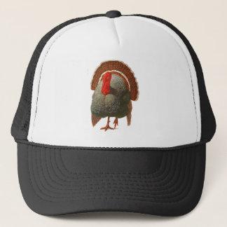 Happy Turkey Day Vintage Turkey Trucker Hat