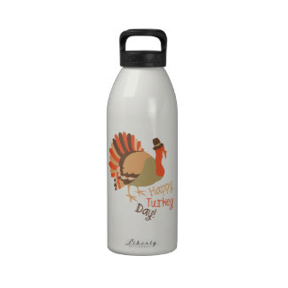 Happy Turkey Day! Reusable Water Bottles