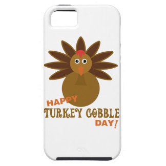 Happy Turkey Gobble Day Thanksgiving iPhone 5 Cases