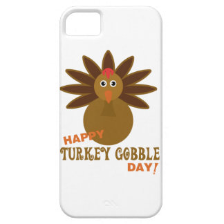 Happy Turkey Gobble Day Thanksgiving iPhone SE/5/5s Case