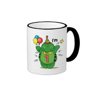 Happy Turtle 1st Birthday Coffee Mug