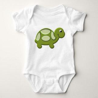 Happy Turtle 2 Baby Bodysuit