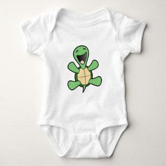 Happy Turtle Baby Bodysuit