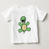 Happy Turtle Baby T-Shirt