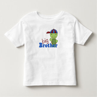 Happy Turtle Big Brother Toddler T-shirt