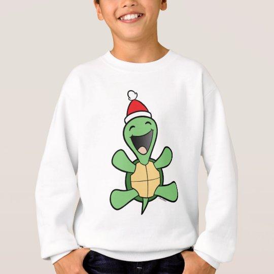 Happy Turtle Christmas Sweatshirt