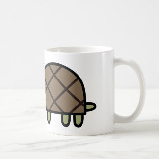 Happy Turtle Classic White Coffee Mug