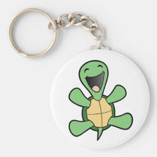 Happy Turtle Keychain