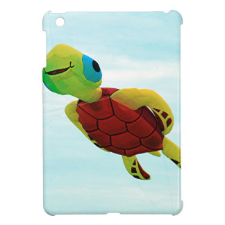 Happy turtle kite flying cover for the iPad mini