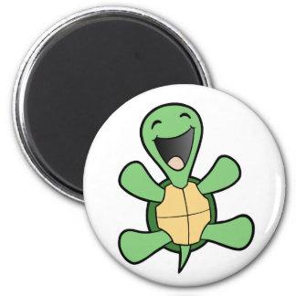 Happy Turtle Fridge Magnet