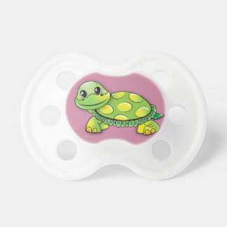 Happy turtle pacifier