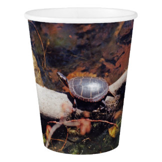 Happy Turtle Paper Cup