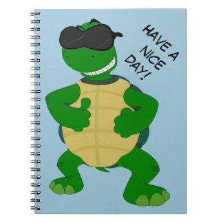Happy turtle - Photo notebook