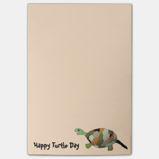Happy Turtle Post-it Notes