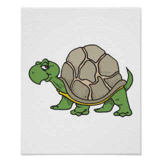 happy turtle poster