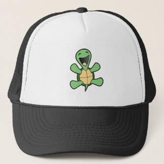 Happy Turtle Trucker Hat