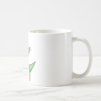 Happy Tyrannosaurus Rex Dinosaur Cartoon Coffee Mug