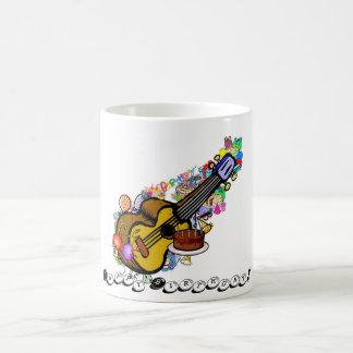 Happy Ukulele Birthday! Classic White Coffee Mug