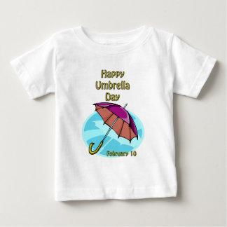 Happy Umbrella Day February 10 Baby T-Shirt