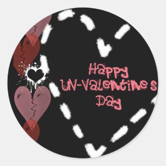 Happy UN-Valentine's Day Sticker