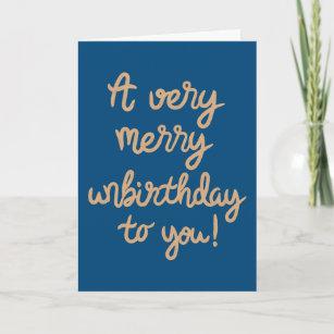 Unbirthday Cards Zazzle