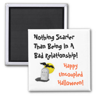 Happy Uncoupled Halloween Magnet
