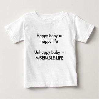 Happy & Unhappy Baby T-shirt