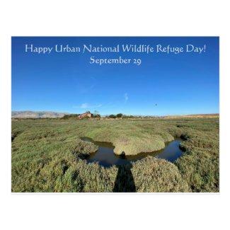 Happy Urban National Wildlife Refuge Day! Postcard