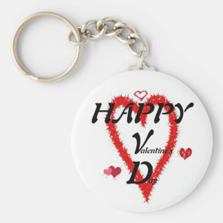 HAPPY  V  D  (valentine's day) Keychain