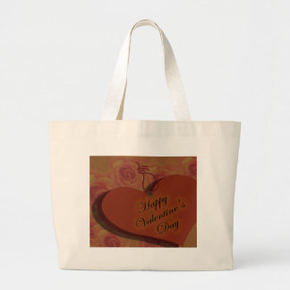 Happy Valentine's Day Canvas Bags